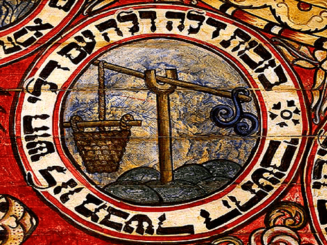 Sephiroth de la Kabbalah, signo Libra mes de Tishrei