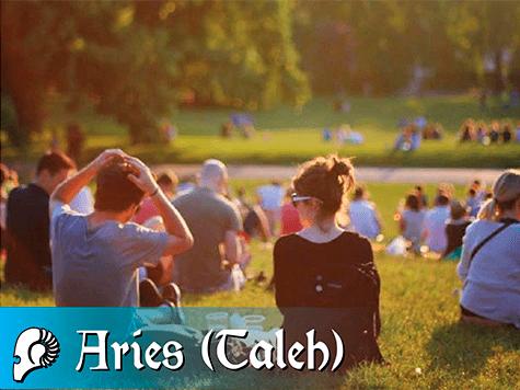 Horóscopo semanal de la kabbalah de Aries (Taleh)
