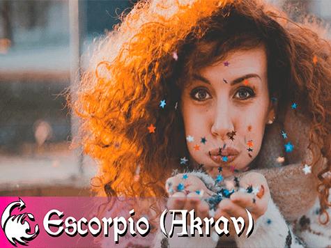 Horóscopo semanal de la kabbalah de Escorpio (Akrav)