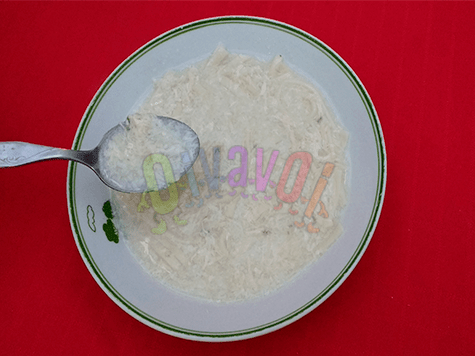 Kimpeturin, la sopa de huevo de la nueva madre