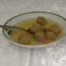 Authentic matzo ball soup