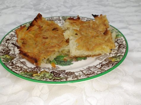 Jewish potato pancakes recipe (latkes)