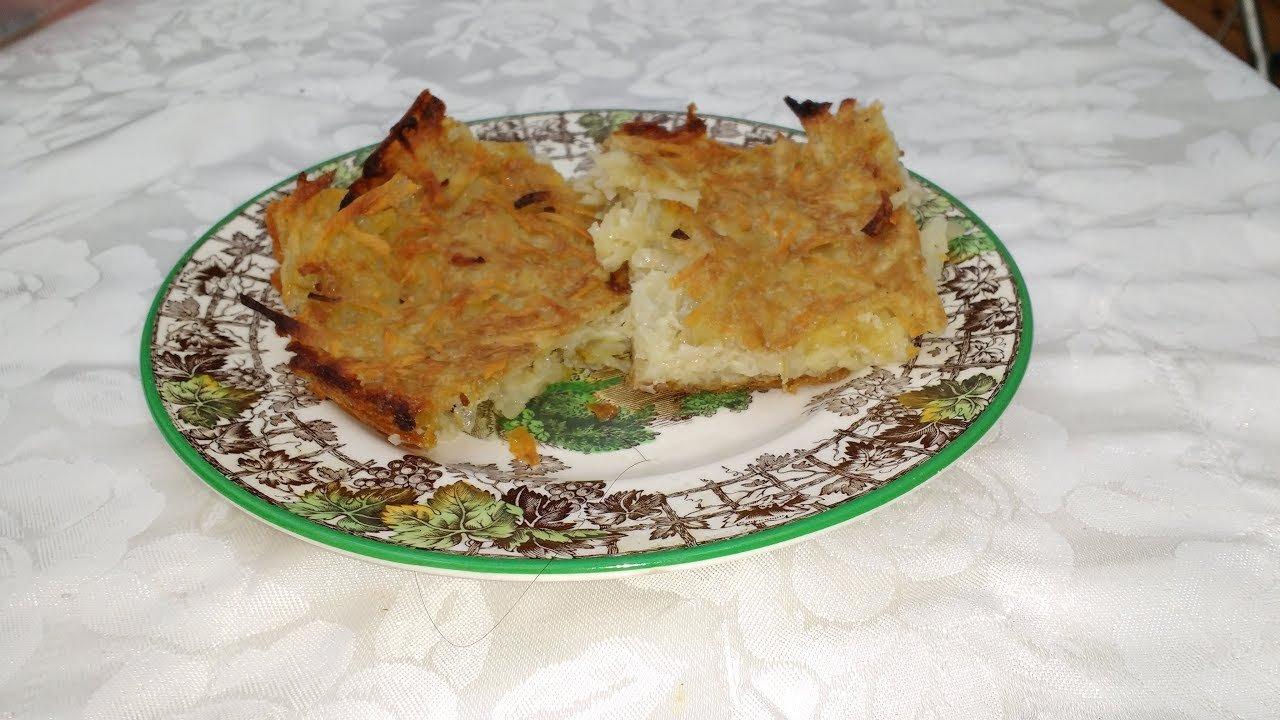 Jewish potato pancakes recipe (latkes)