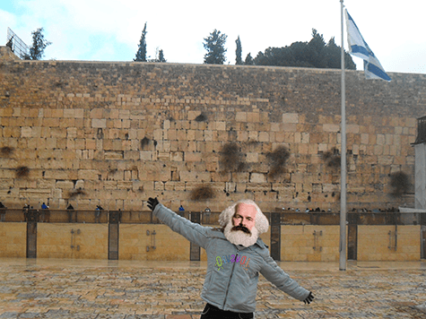 Karl Marx en Jerusalem