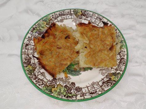 Receta de latkes (potato pancakes)