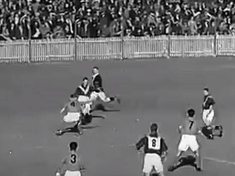 Futbol en Israel vs Australia 1939