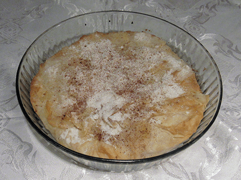 Pastel de pollo marroqui