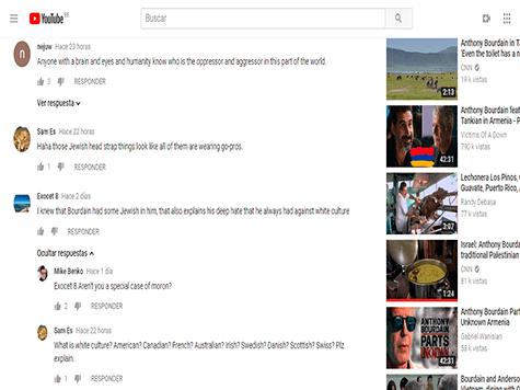 Anthony Bourdain en Youtube