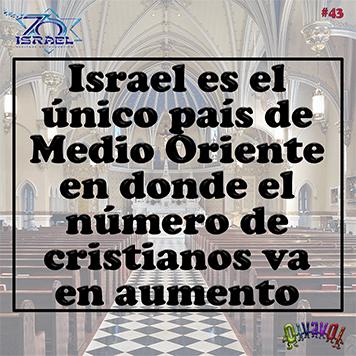 70 aniversario de Israel