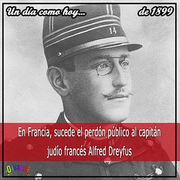 Alfred Dreyfus, 19 de septiembre