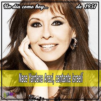 27 de septiembre, Yardena Arazi