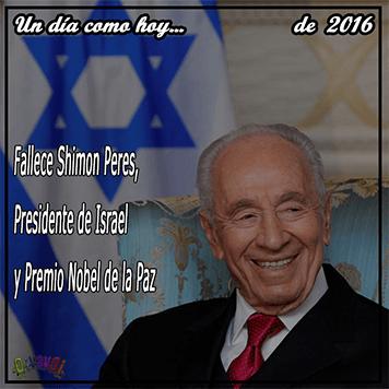 Shimon Peres, 27 de septiembre