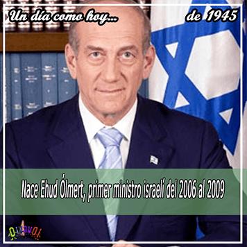 30 de Septiembre Ehud Olmert