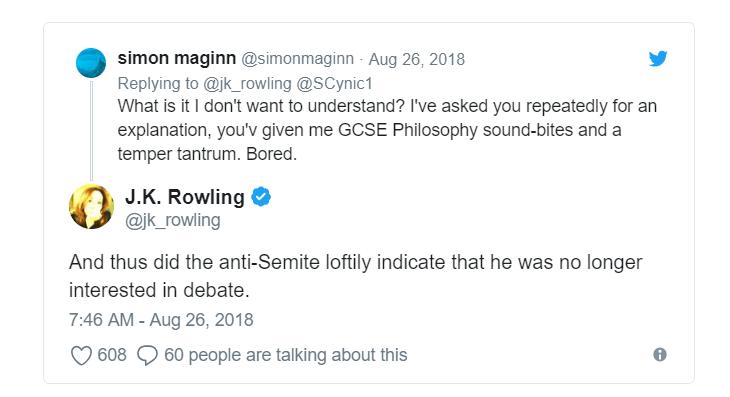 Harry Potter contra el Voldemort antisemita 2