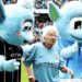 La mascota de 102 años del Pep Guardiola