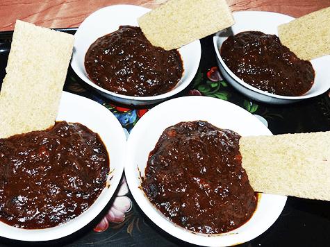 Guiso agridulce (esik fleisch)