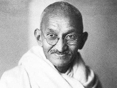 Mahatma Gandhi y el profesor Peters
