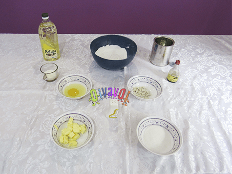 Jelly doughnuts for Hannukah (sufganyot)