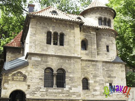 La sinagoga viejo-nueva de Praga 1
