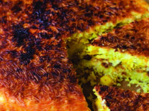 Pastel de carne a la persa (kurich basar)
