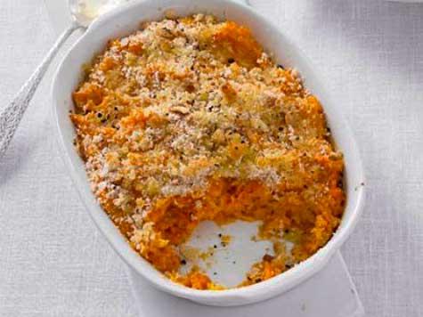 Charlotte de papas y zanahorias