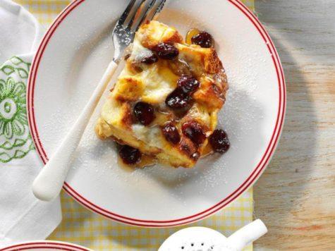 Soufle de pan con frutas 1