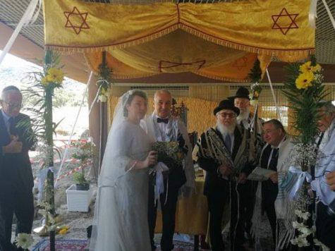 Primera boda judía en 1500 años en una antigua sinagoga italiana