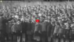 Niños cantando Hatikva en la década del '30