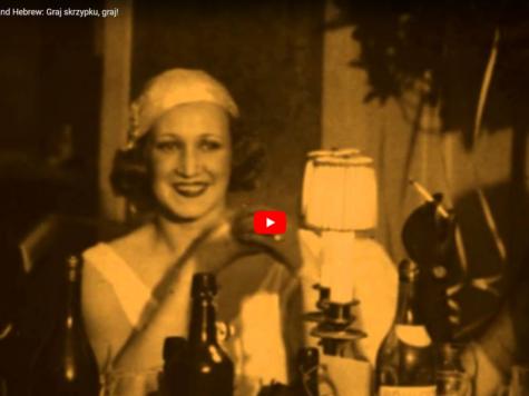 'Toca, violín, toca', un viejo tango en polaco y hebreo