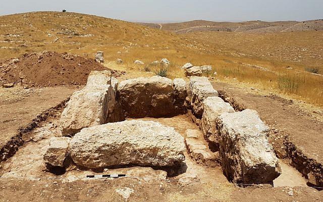 Soldados israelíes descubren una torre de vigilancia de la época bíblica en su propia base de entrenamiento