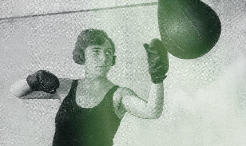 Vicki Baum, novelista, feminista y boxeadora