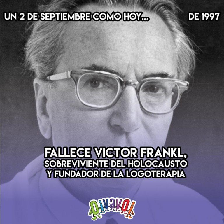 2 de Septiembre: Viktor Frankl