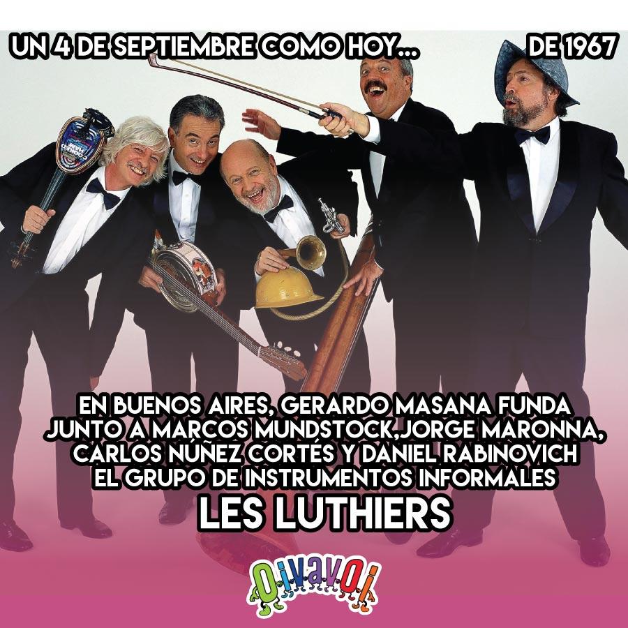 4 de Septiembre: Les Luthiers