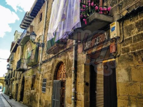The mysterious stones of Olite