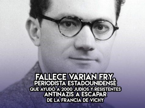 13 de Septiembre: Varian Fry