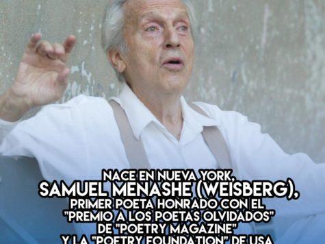 16 de Septiembre: Samuel Menashe