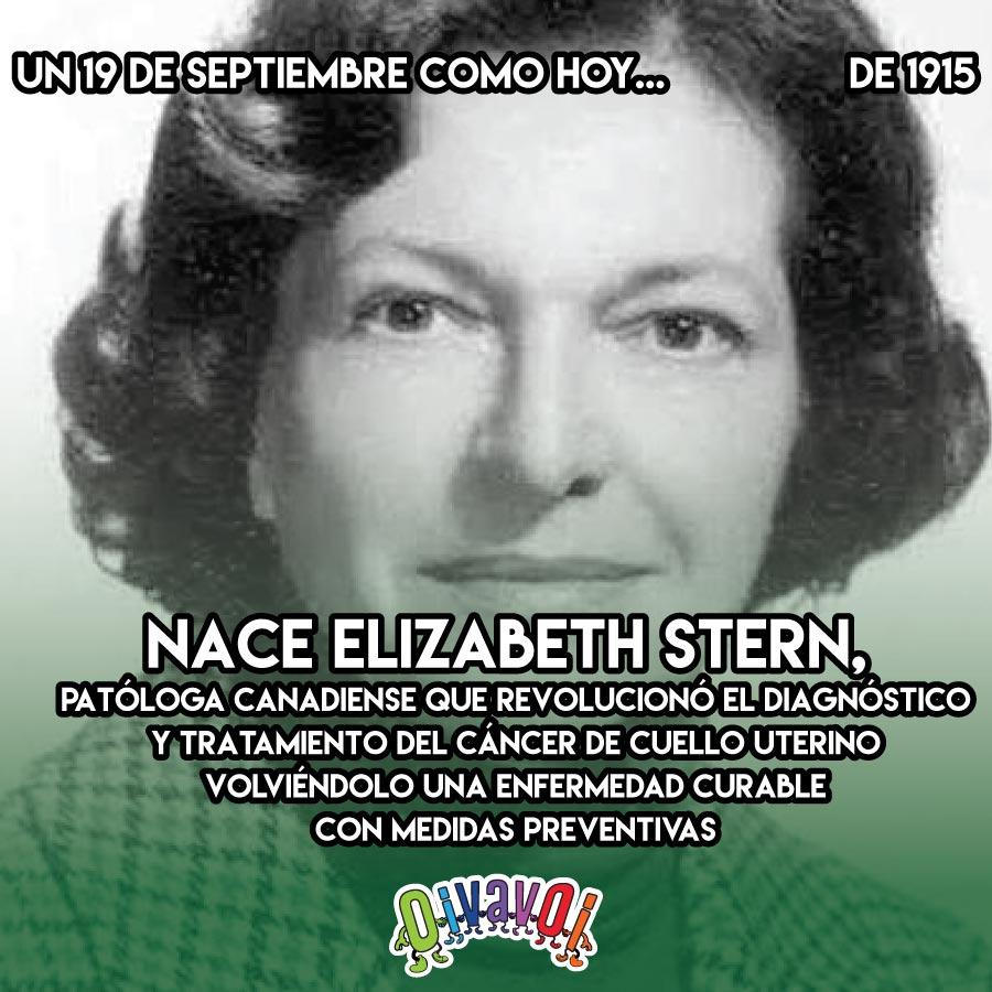 19 de Septiembre: Elizabeth Stern