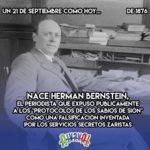 21 de Septiembre: Herman Bernstein