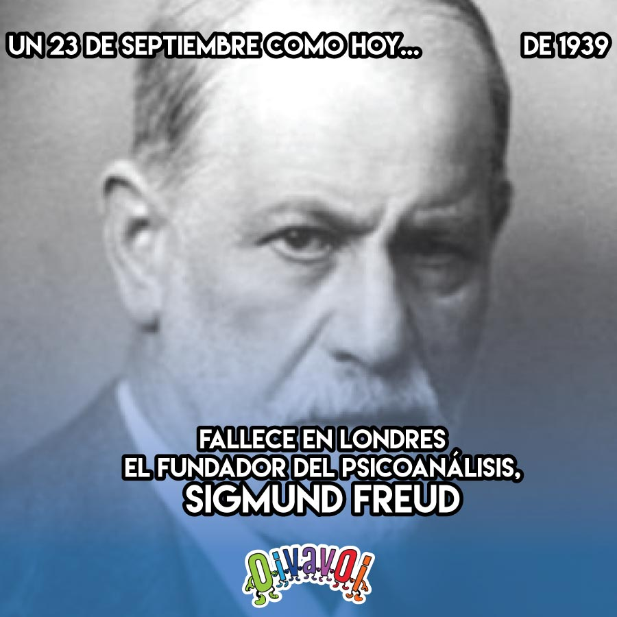 23 de Septiembre: Sigmund Freud