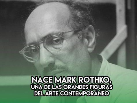 25 de Septiembre: Mark Rothko