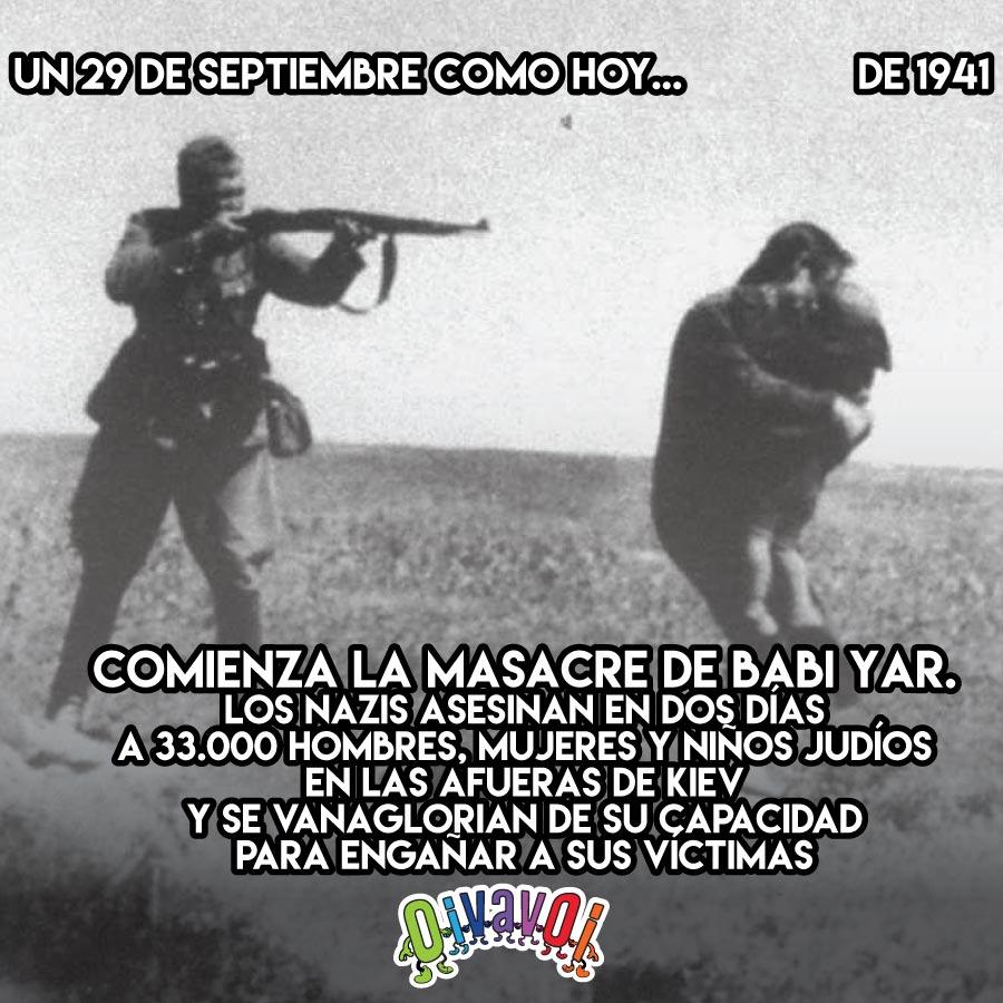 29 de Septiembre: Babi Yar