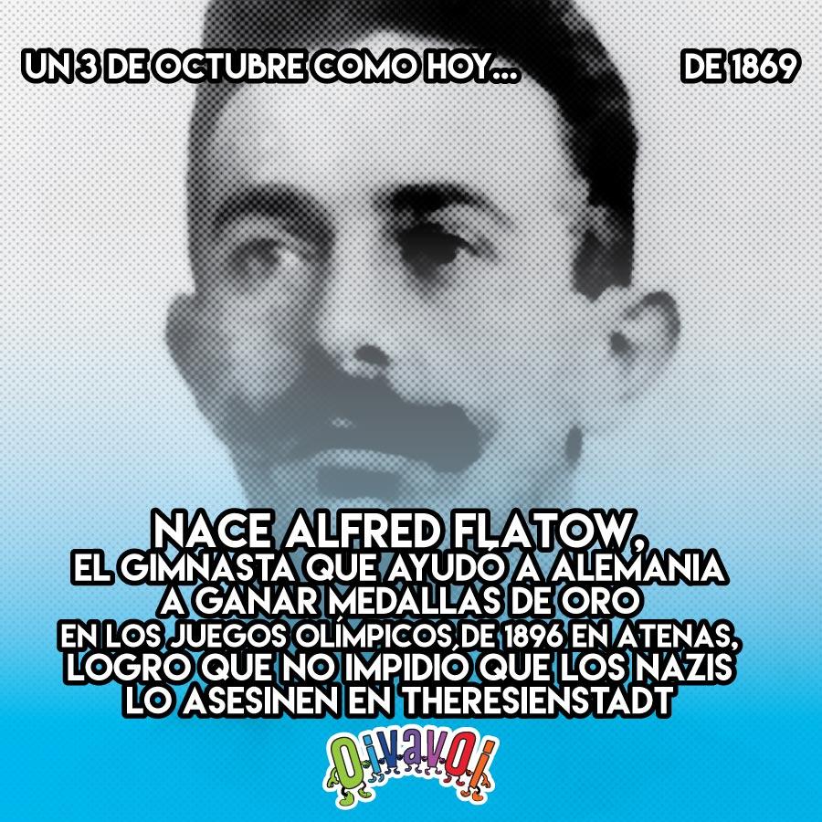 3 de octubre: Alfred Flatow