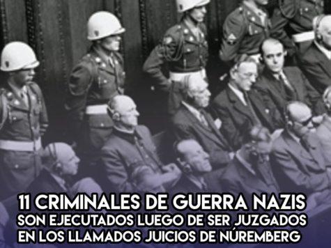 Juicios de Nuremberg: la sentencia se cumple un 16 de octubre