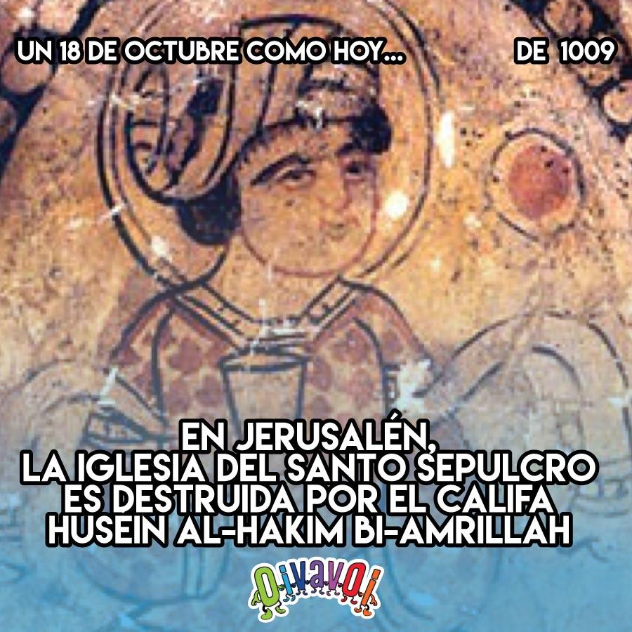 18 de octubre: el Santo Sepulcro