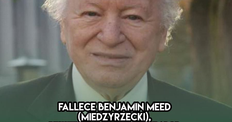 Benjamin Meed: 24 de Octubre