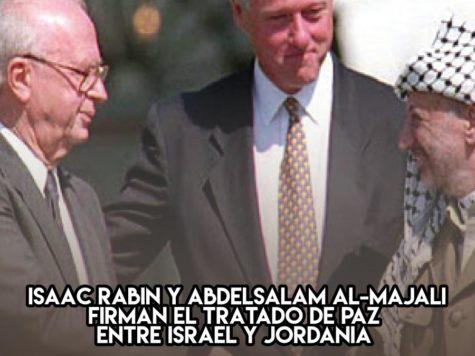 Tratado de paz entre Israel y Jordania: 26 de octubre