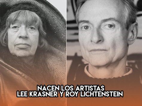 Lee Krasner y Roy Lichtenstein: 27 de octubre