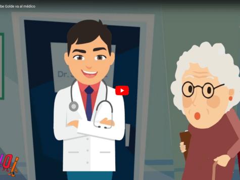 Chistes judíos: La bobe Golde va al médico