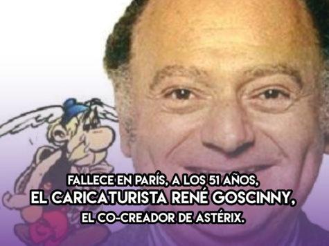 René Goscinny: 5 de Noviembre