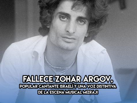 Zohar Argov: 6 de Noviembre